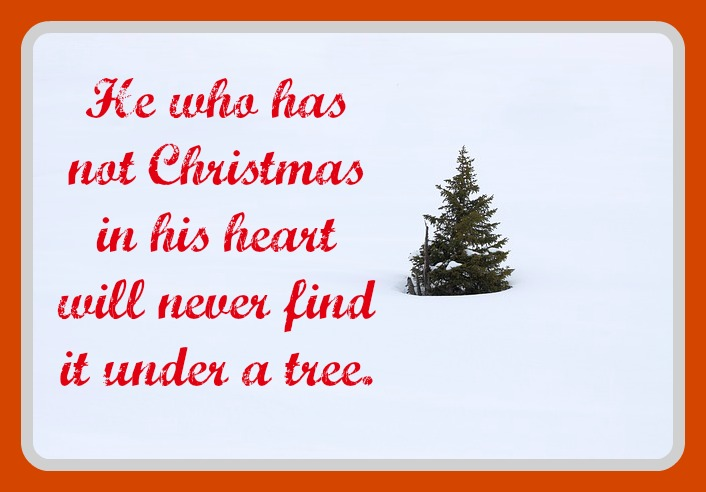 Christmas Quotes And Graphics: Lessons Learned In 3-D -- O Christmas Tree