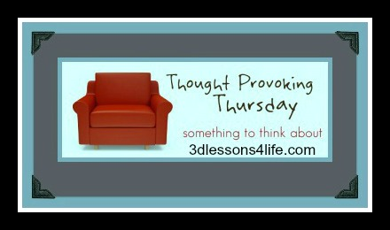 Something to Think About; Thursday Link Up Party
