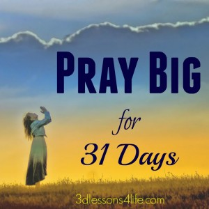 Pray Big 31 Days