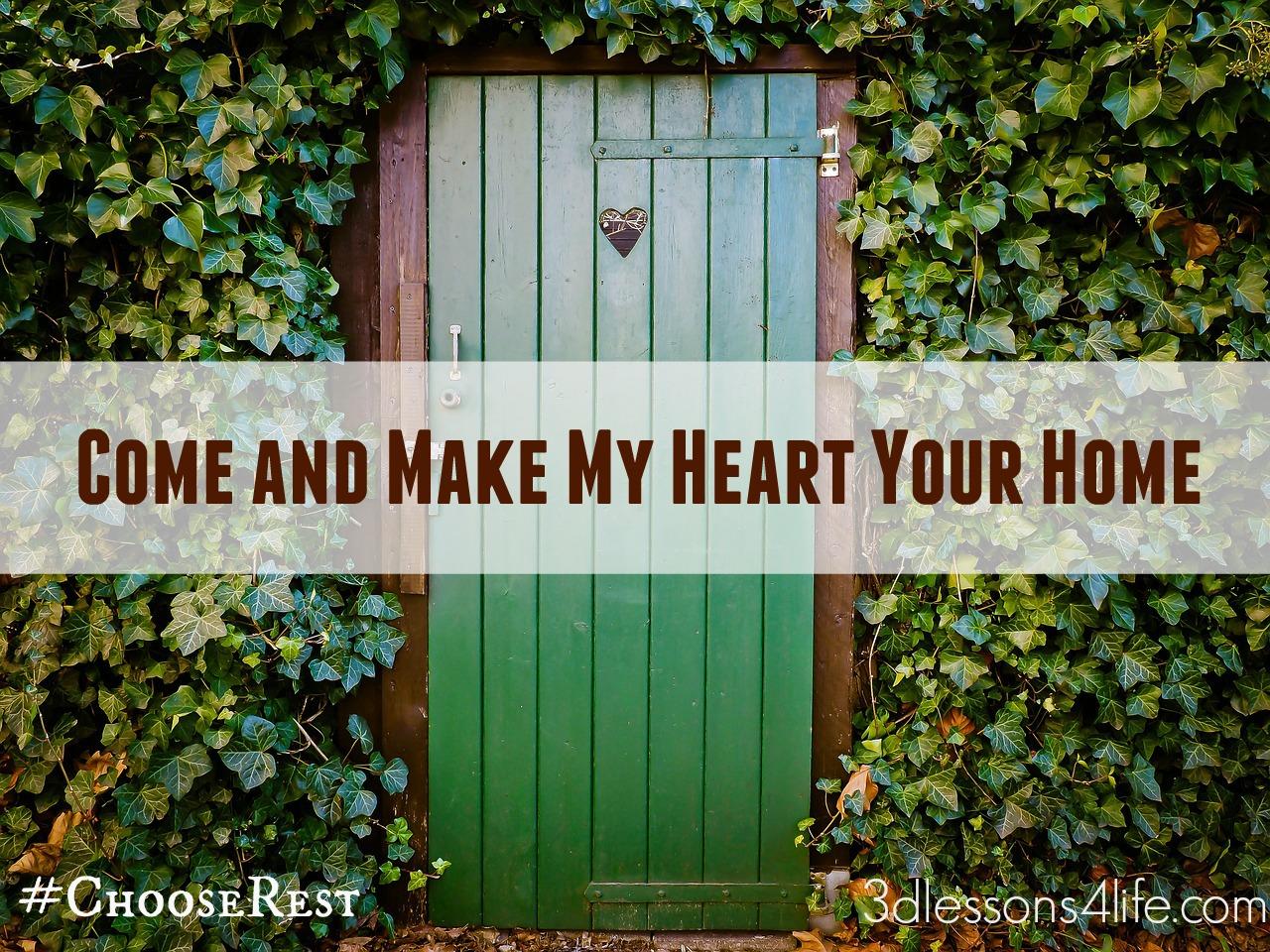Head Home | 3dlessons4life.com
