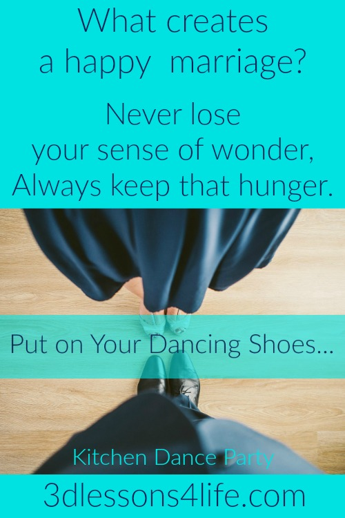 Put on Your Dancing Shoes | 3dlessons4life.com