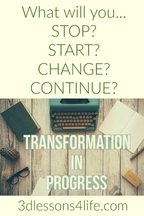 Transformation | 3dlessons4life.com