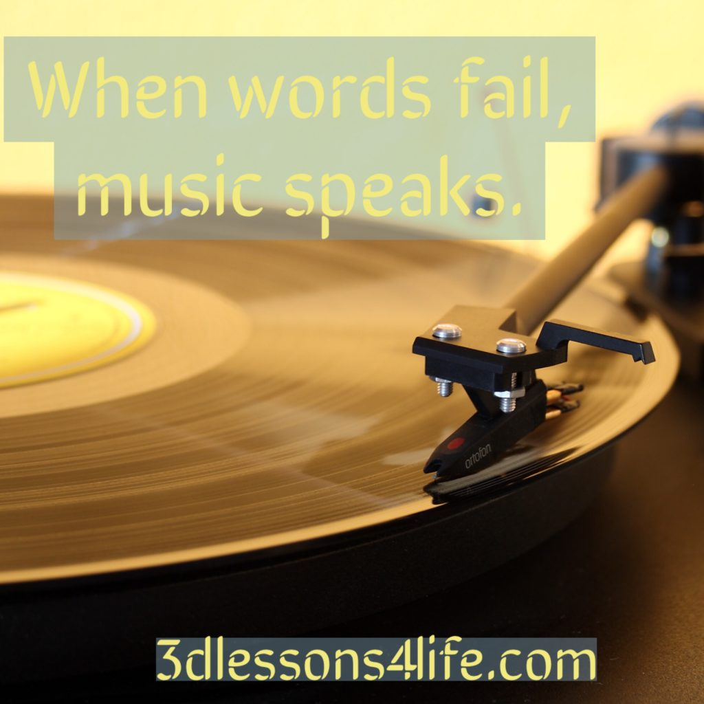 Music is My Muse | 3dlessons4life.com
