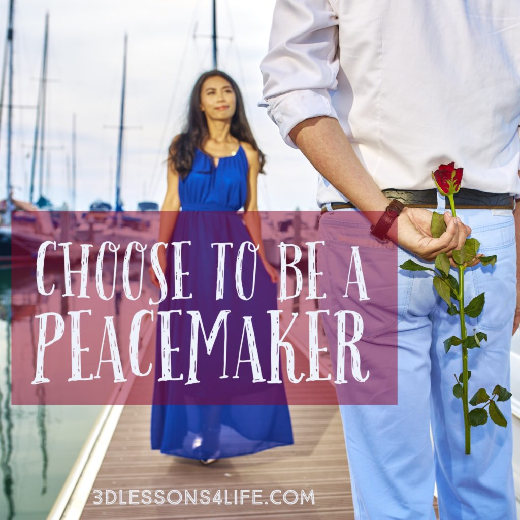 Be a Peacemaker | 3dlessons4life.com