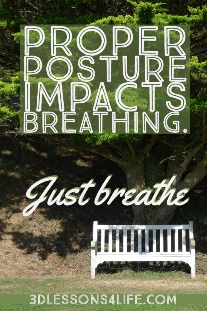 Proper Posture Impacts Breathing   Just Breathe for 31 Days - Day 12   3dlessons4life.com