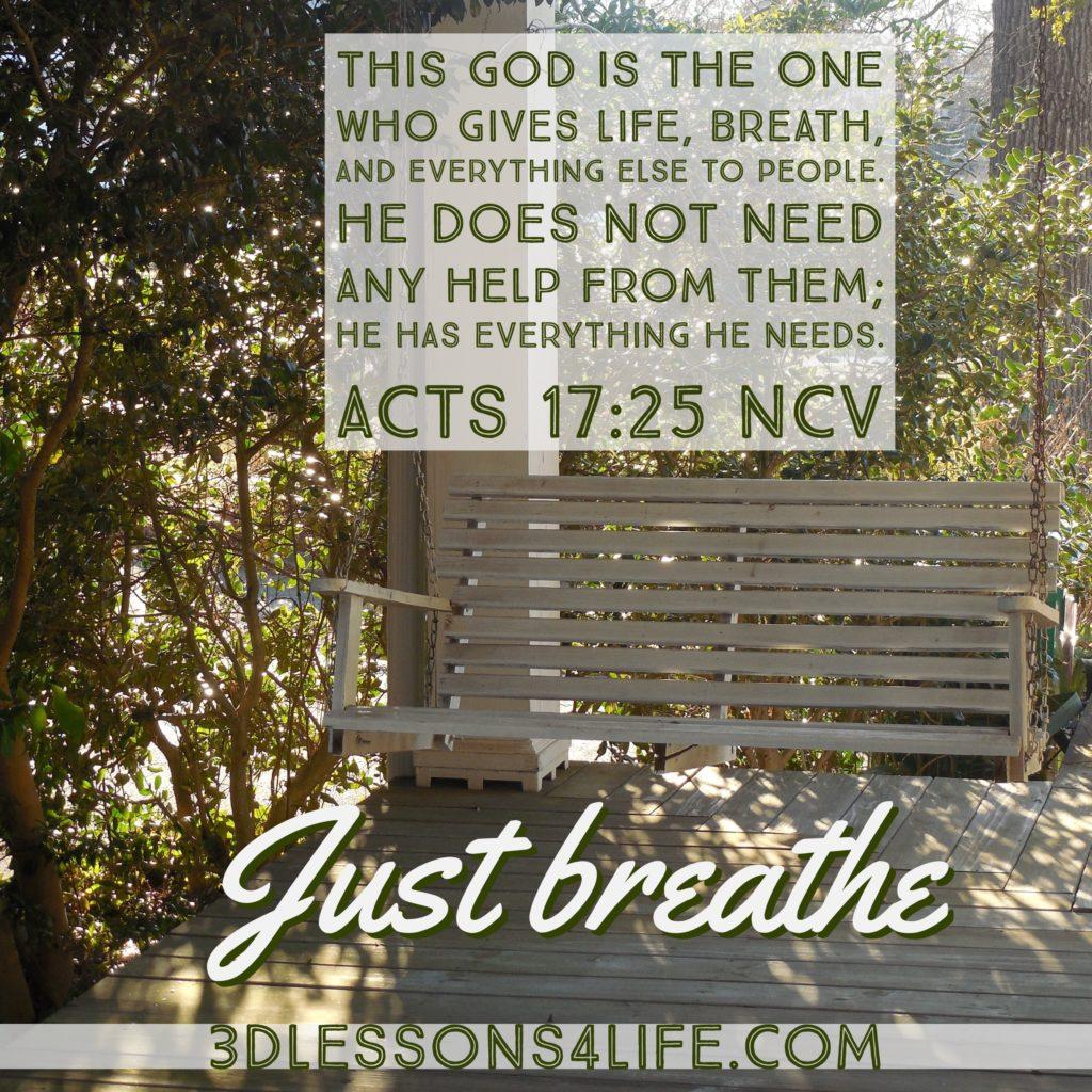 Resuscitate Your Faith | 3dlessons4life.com