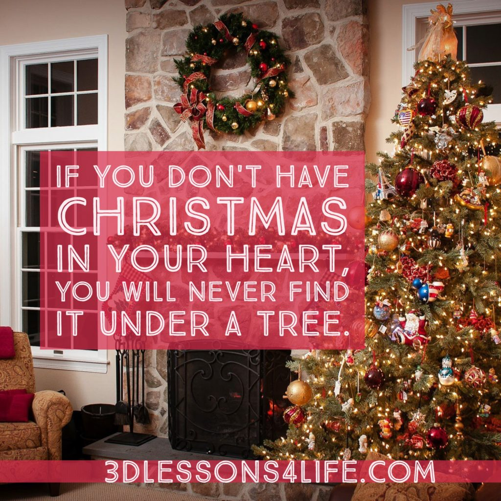 Christmas Heart | 3dlessons4life.com
