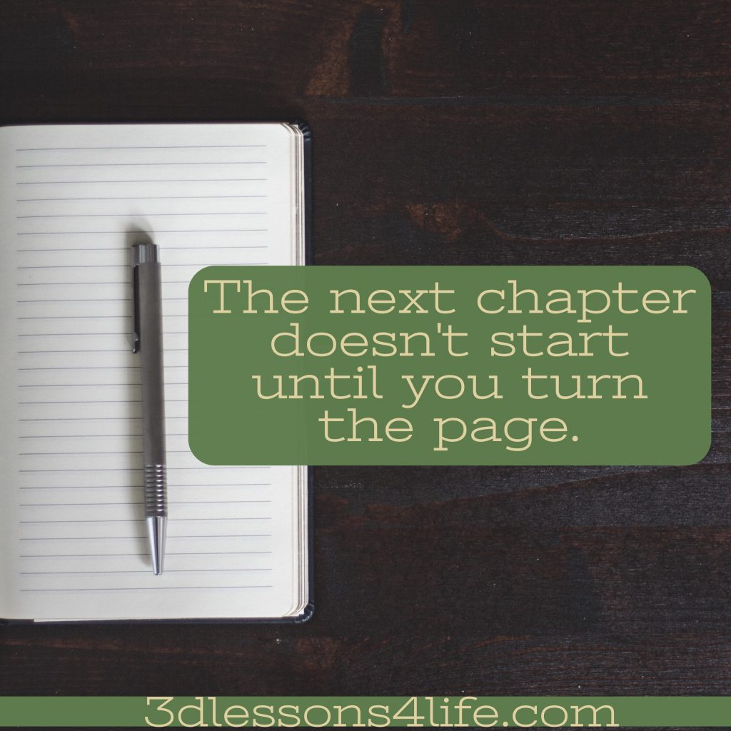 Turn the Page | 3dlessons4life.com